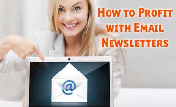 profit with email newsletters